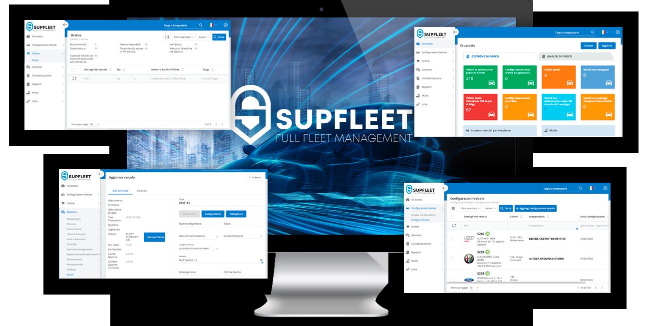 supfleet software gestionale per la flotta aziendale